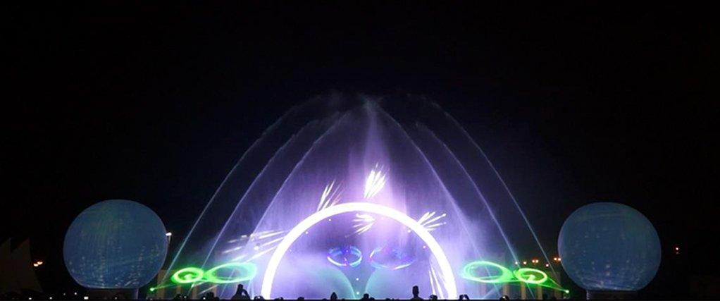 水景灯光秀