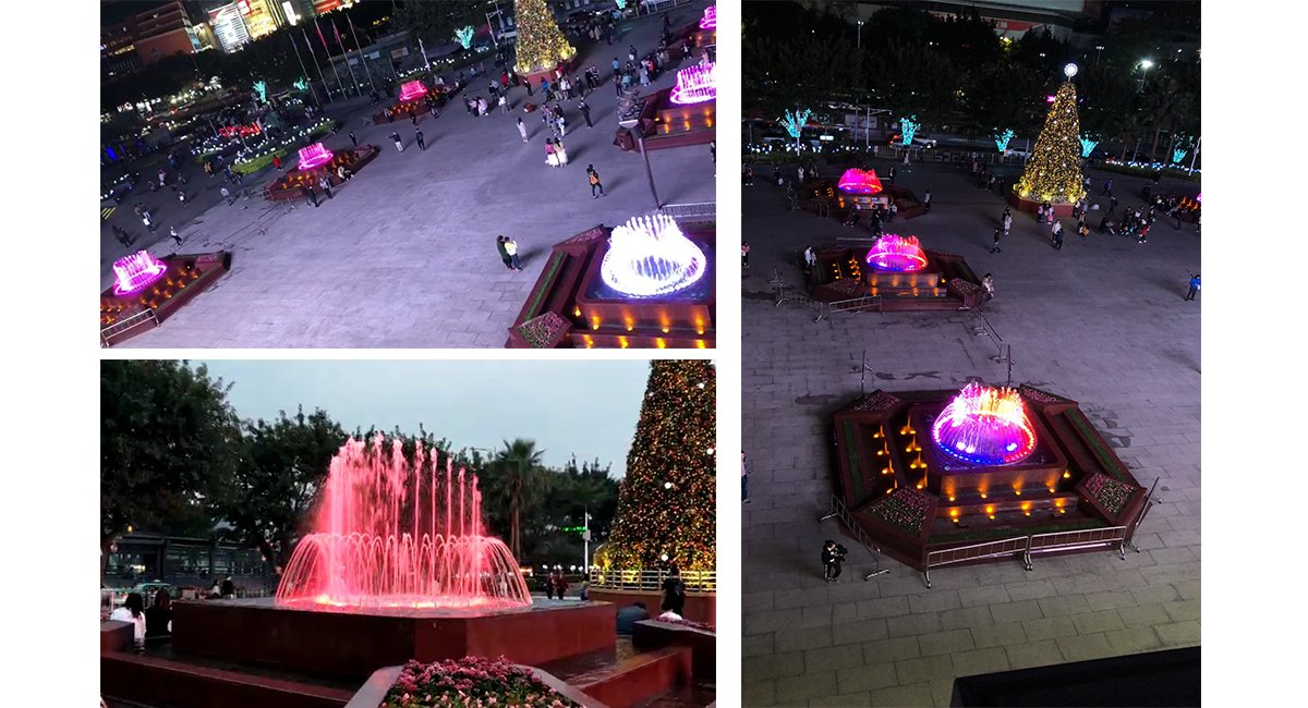 广场音乐喷泉