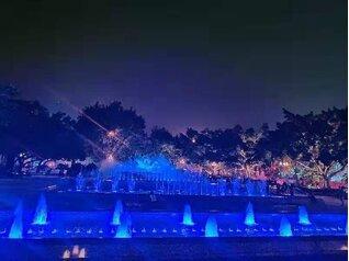 公园音乐喷泉