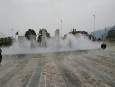 喷泉设备中人造雾的原理